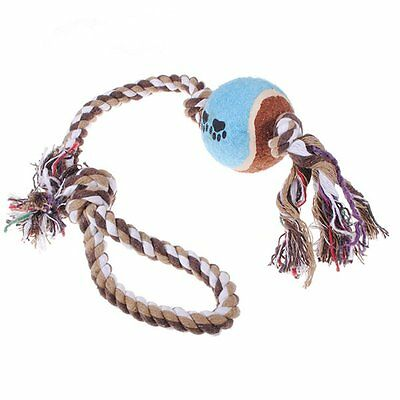 Toy to chew for small dog cat rope knot puppy small animal  LW
