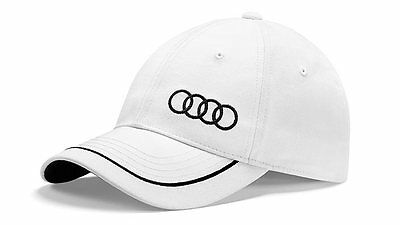 Audi Collection Unisex Baseballkappe, weiss Art.-Nr. 3131400920