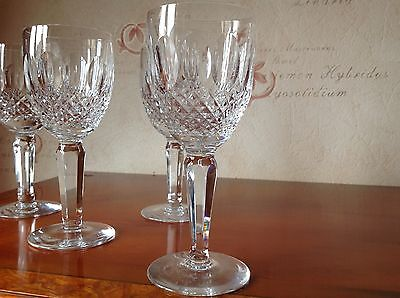 Waterford Crystal Colleen Tall Claret Glasses (up To 10 Available)