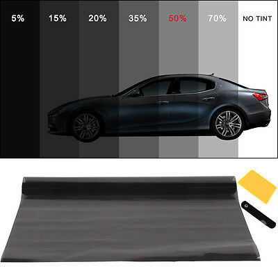 PRO ULTRA LIGHT 50% CAR WINDOW TINT ROLL 6M x 76CM FILM TINTING