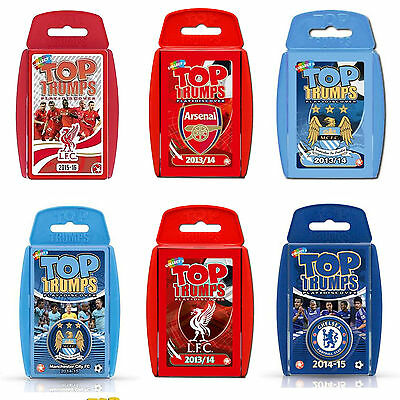 Top Trumps - Premier League Football Editions / New & Sealed