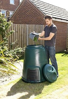 220L Green Compost Converter Bin - Ideal for Home Composting