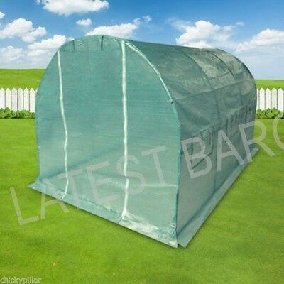3 Metre Large Greenhouse Outdoor Garden Hothouse NEW Window Flaps
