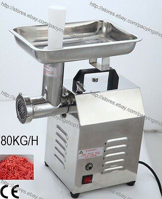 Commercial Electric Auto Butcher Home Meat Mincer Grinder Maker Mincing Machine