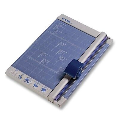 "CARL Rotary Paper Trimmer - 1 x Blade(s)Cuts 10Sheet - 12"" Cutting Length -..."