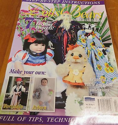 AUSTRALIAN DOLLS BEARS and Collectables vol.20 no.1 Like new