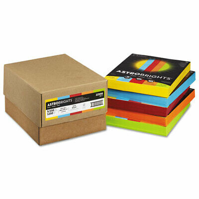 Astrobrights Color Paper - Five-Color Mixed Reams, 24lb, 8 1/2 x 11, 5...