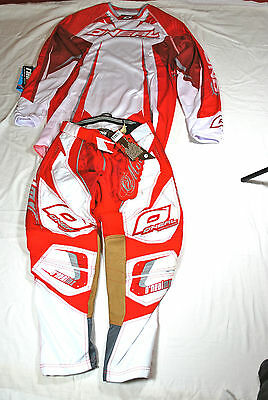 Oneal Hardwear Adult Track Motox Mx Bmx Gear Trial Combo Or Trousers All Sizes