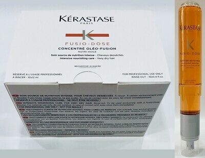 Concentre Oleo FusioN 10 X 12ML + Booster Nutrition 120ML Kerastase
