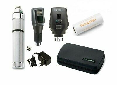 Welch Allyn Combined 3.5V Streak Retinoscope Ophthalmoscope- Rechargeable Set