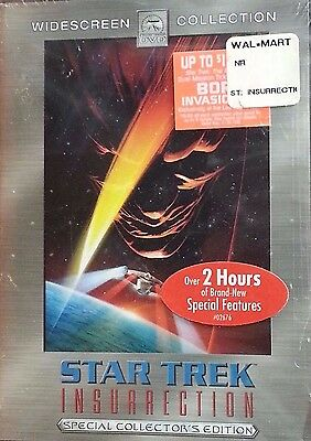Star Trek: Insurrection (DVD, 2-Disc Set, Special Collector's Edition) BRAND NEW