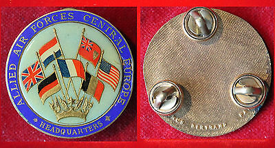 Militariarmy Allied Air Forces Central Europe  *headquarters* Us Gb Nl Usa D F I