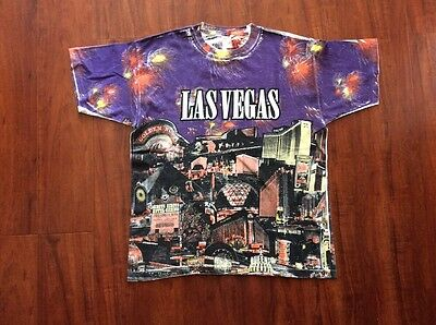 Vintage Skyline Hotel And Casino Las Vegas NV T Shirt