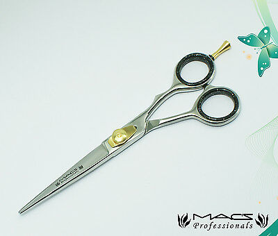 Macs Professional Razor Edge Barber Hair Cutting Scissors/Shears with Pouch-7.5""