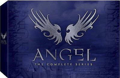 Angel:The Complete Series Collection (DVD,30-Disc Box Set) Seasons 1-5 NEW Buffy