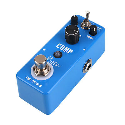 Mini Portable Full Metal Compressor Compression Effect Pedal with Bypass