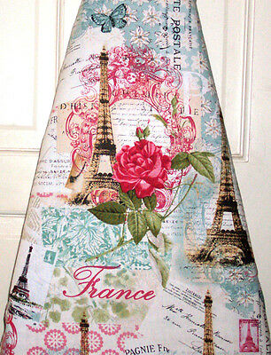 """Handmade Ironing board cover """"France 18 X 54 """" !"""