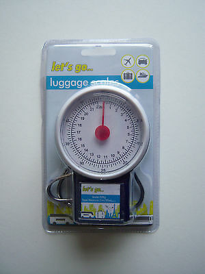 Baggage Allowance Weight Travel Scales + 1M Tape Measure Avoid Airport Charges