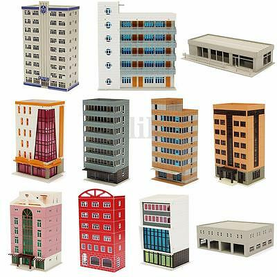 Outland Models Railway Police Department Business Building Apartment N Scale New