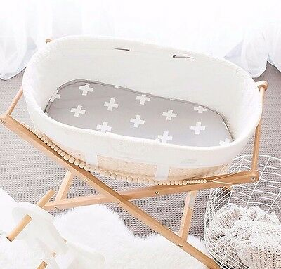Bambella Designs Bassinet Liner Sheet - Universal Fit - Available in 14 Colours