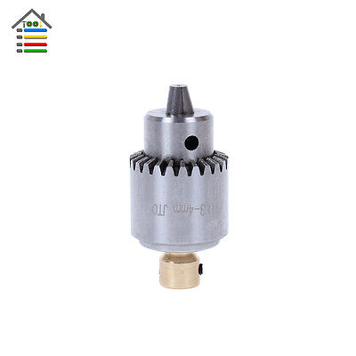 Electric Drill Chuck 0.3-4mm JTO Taper Mounted Lathe PCB For 2.3mm Motor Shaft