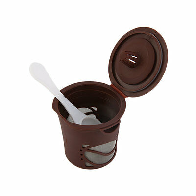 1pc Refillable Coffee Capsules Pod For Nespresso Stainless Steel Filters GA