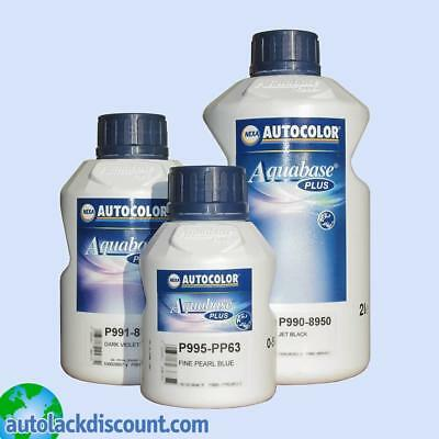 Nexa Aquabase Plus 998-8988 Mischlack Medium Bright Alu 2 Liter