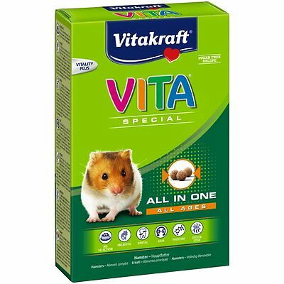 VITAKRAFT Vita Special All Ages - Hamster - 600g - Food Rodents Hamster food