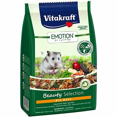 Vitakraft Emotion Beauty All Ages, Dwarf Hamster - 300g - Food Special Food
