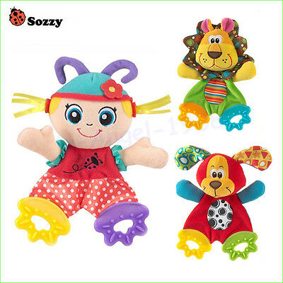 Baby Infant Soft Appease Toys Towel Playmate Calm Doll Teether Developmental Toy