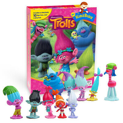 Trolls My Busy Book & Map Plus 12 Figures