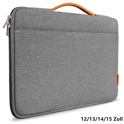 Inateck Laptoptasche für 13/14/15 Zoll Laptops / Notebooks / MacBook, Dunkelgrau