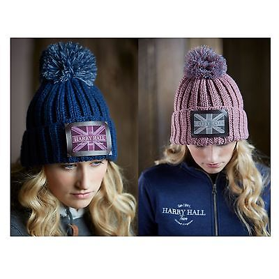 Harry Hall Equestrian Horse Riding Outdoor Comfortable Team Knitted Hat