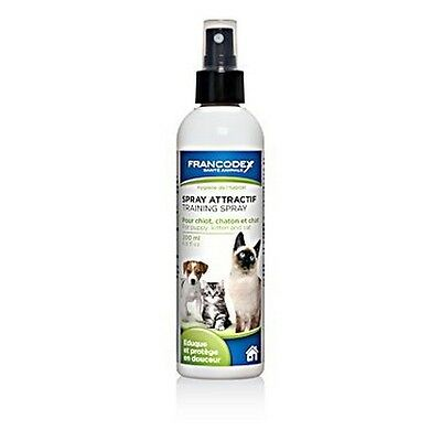 Spray attractif chiots et chatons FRANCODEX 200ml