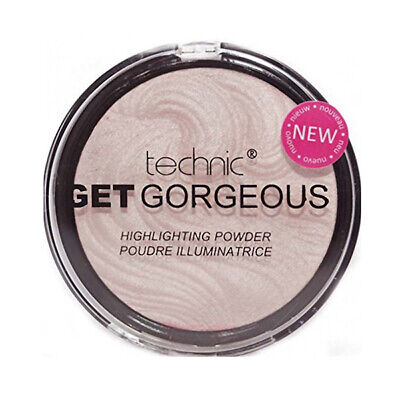 Technic Get Gorgeous Highlighting Powder- Compact Faccia Highlighter Shimmer