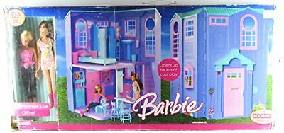Barbie City Pretty Townhouse & Dolls Giftset Exclusive