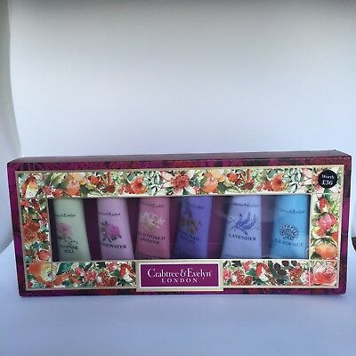 Crabtree & Evelyn Floral Hand Therapy Sampler 25 g - Pack of 6