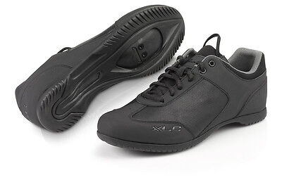 XLC SPD Lifestyle Cycling Lace Up Shoes - Black