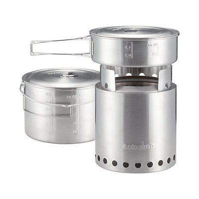 Solo Stove Campfire & Solo 2 Pot Set combo - Best Selling Camping Stove