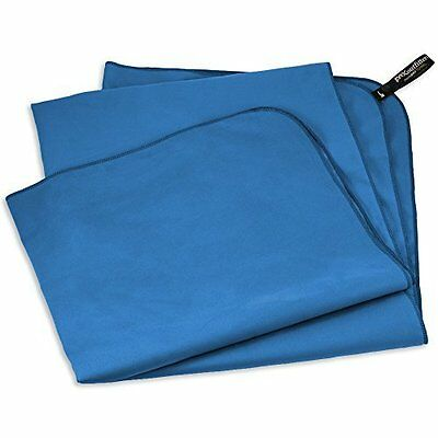 Fox Outfitters MicroDry Towel - Compact Quick Dry Towel with Hang Loop Snap.