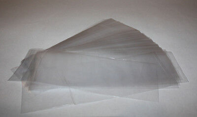 3x9 1.2MIL Clear Flat Polypropylene Bags PACK OF 100