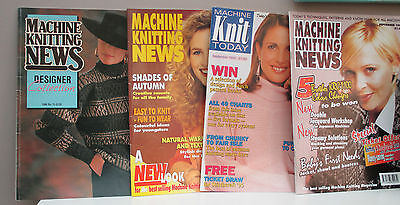 SET Of  FOUR MACHINE KNITTING BOOKS PackTHIRTY