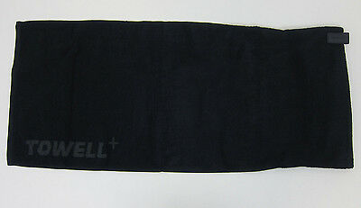 Thinks Gym Towell Towel - Zippered Pocket + Magnetic Strap - New