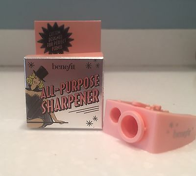 Benefit Cosmetics All-Purpose Pencil Sharpener Size Adjuster Blade Cleaning NEW!