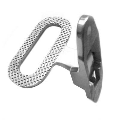 Stainless Steel Slant Pedal Yacht Marine Hardware 151mm Sliver