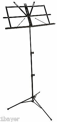 Ultimate Support Studio Stage Compact Foldable Instrument Music Stand Hanger