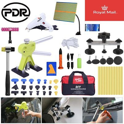 Paintless Hail Removal Dent Lifter Puller PDR Tools Auto Body Set Line Board Bag