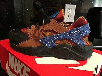 af15c293e71a NIKE Huarache Mens 8 - 13 Camp fire Black Brown Red Blue Yellow Max KD 90