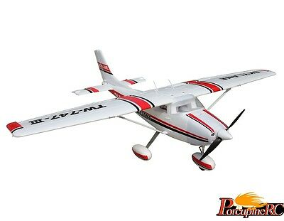 Volantex 1600mm Cessna 182 RC Trainer (Red) KIT  No Electronics