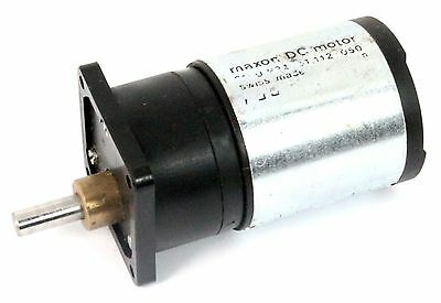 Maxon 2140.934 61.112-050 40Mm 12V Dc Motor With Ironless Rotor + Gearbox 6R